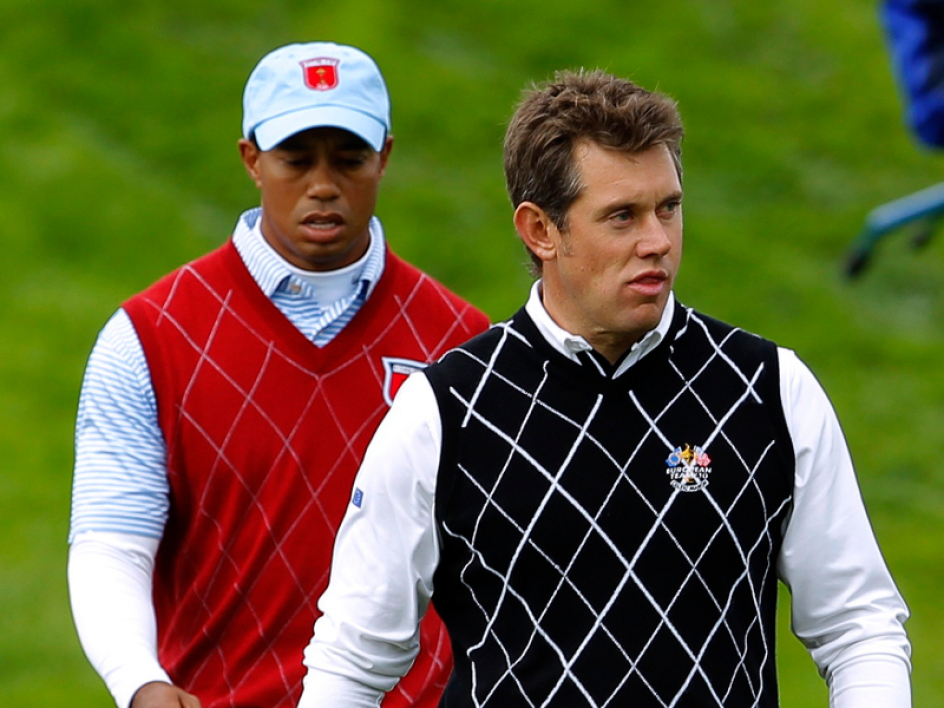Tiger Woods et Lee Westwood