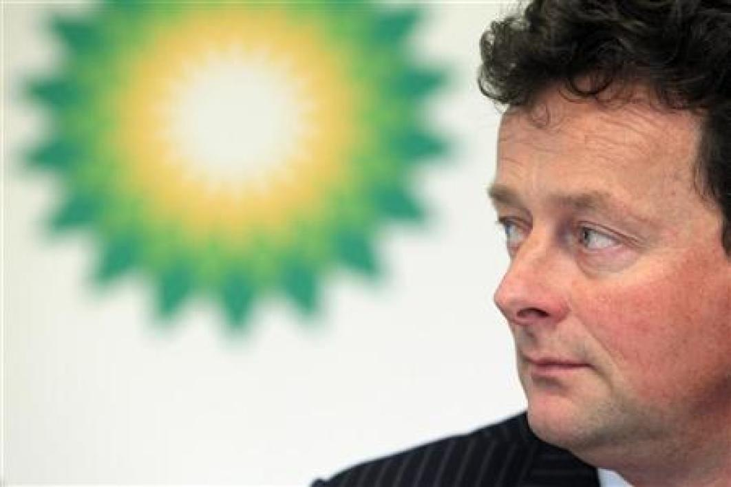 Tony hayward quitte la direction de bp