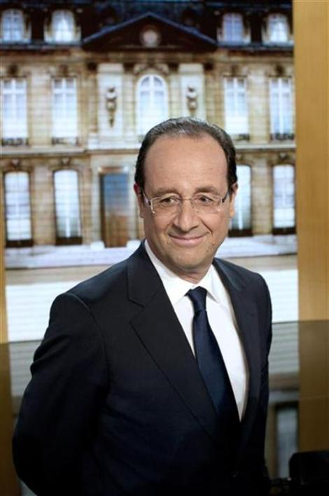 François hollande en visite à londres, centre mondial de la finance