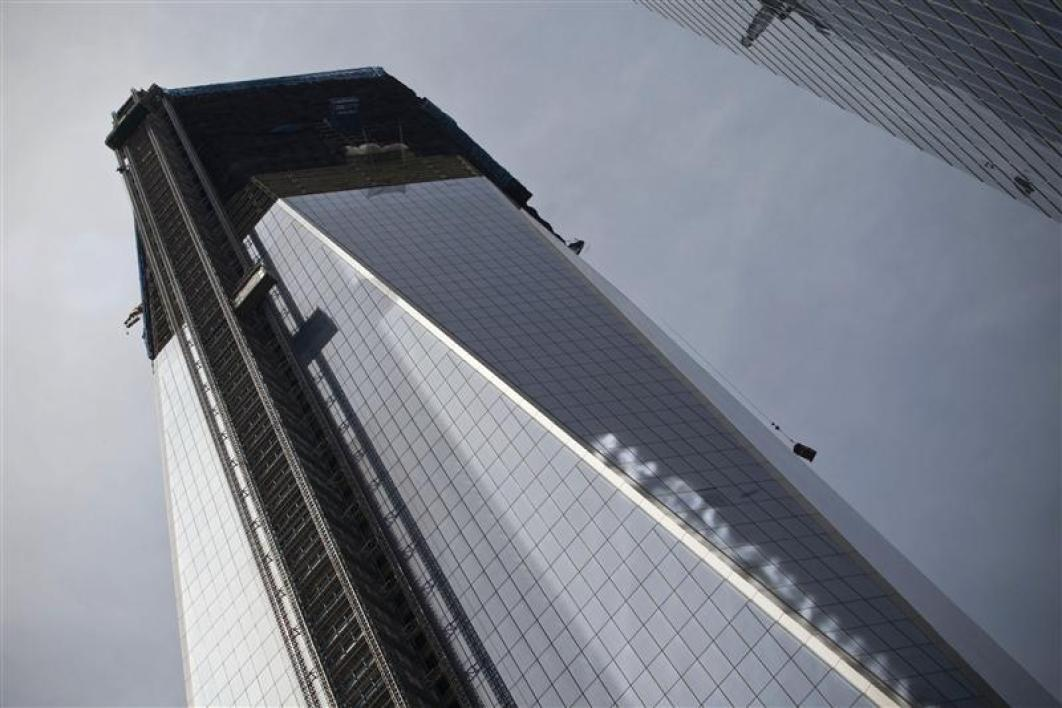 Le nouveau world trade center devient la plus haute tour de new york