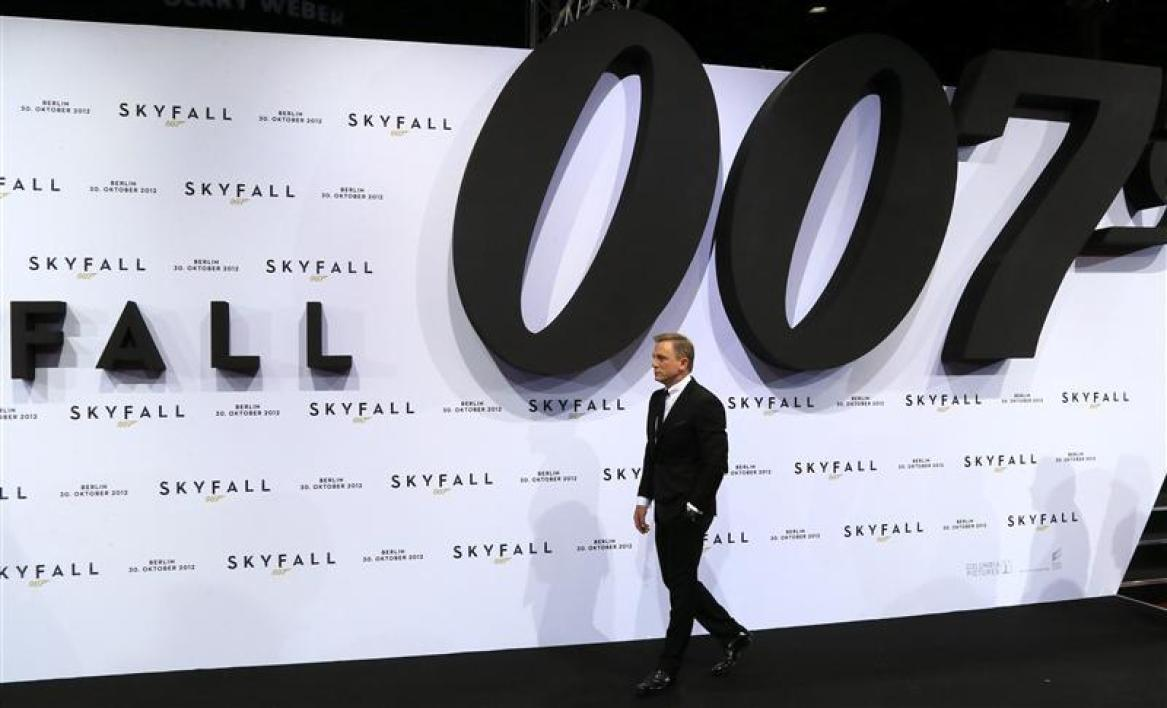 """skyfall"" affole le box-office"