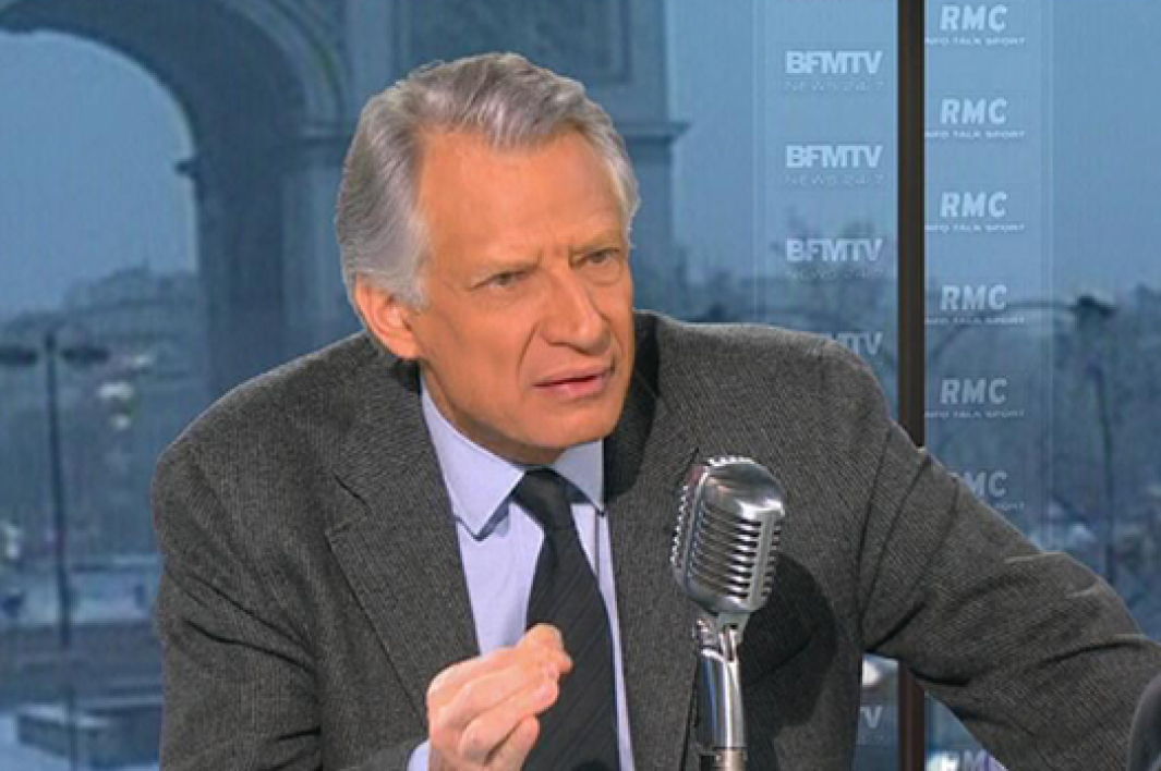 Dominique de Villepin, invité de Bourdin Direct ce lundi