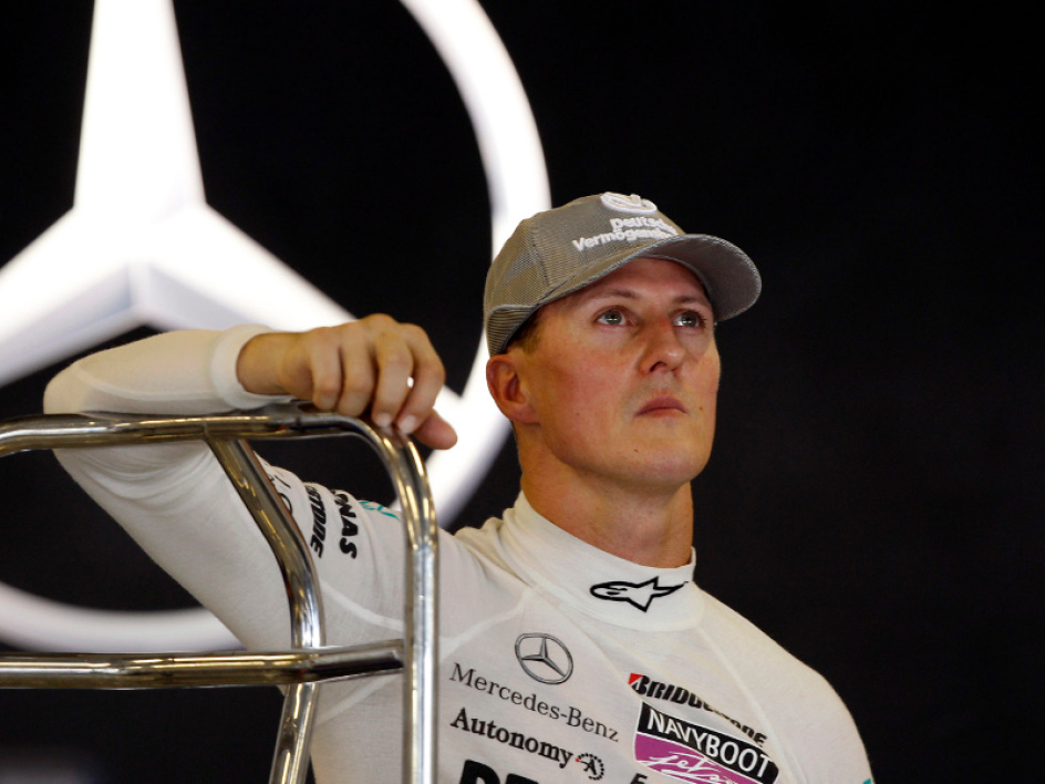 Schumacher, 6 points en quatre courses...