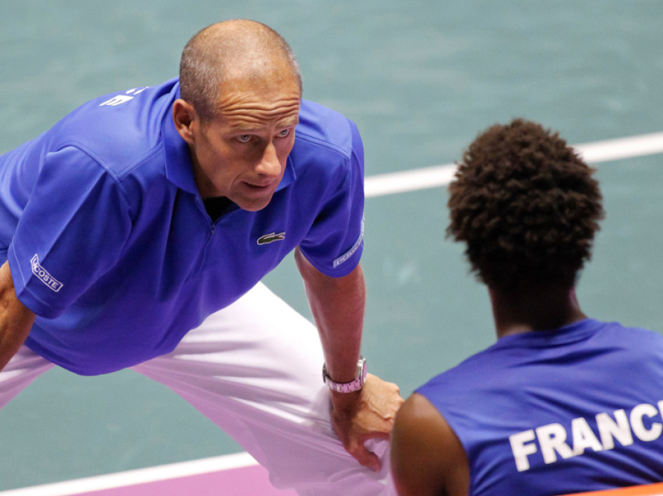 Guy Forget et Gaël Monfils