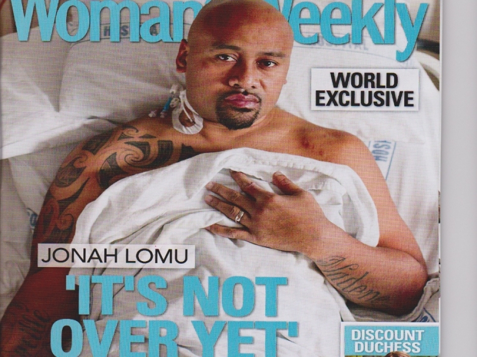 La une du New Zealand Woman Weekly