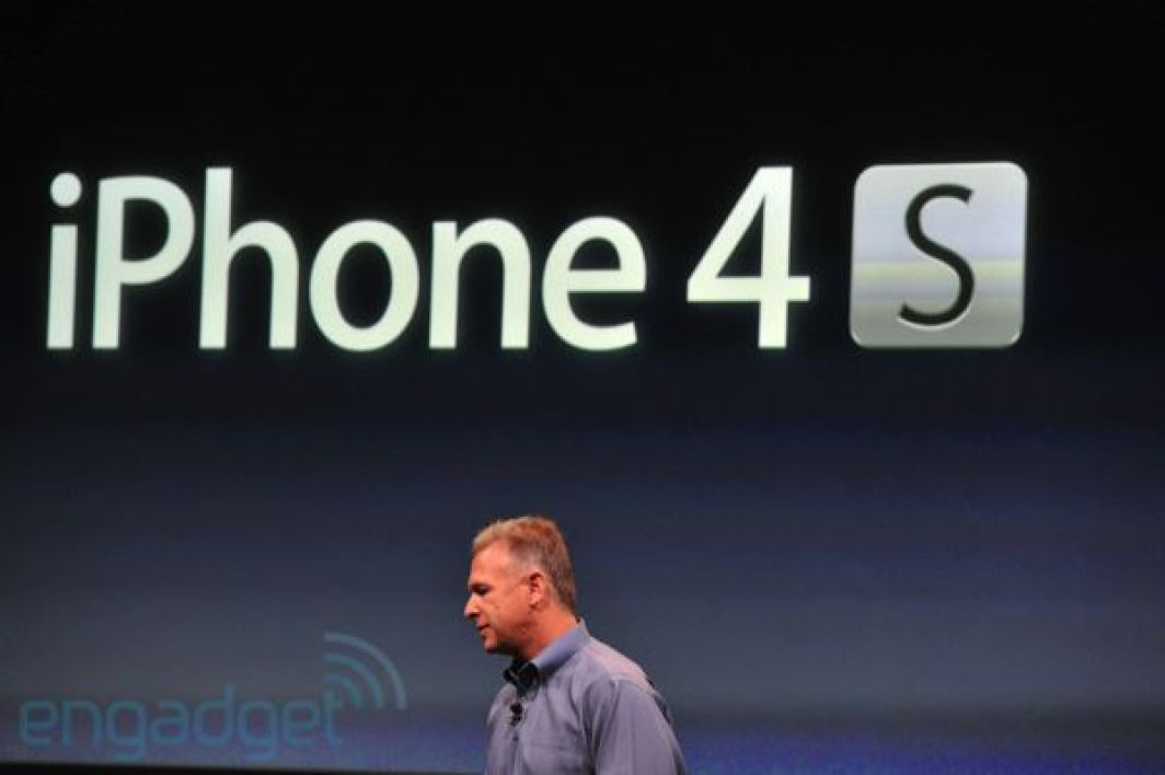 Apple dévoile l'iPhone 4S