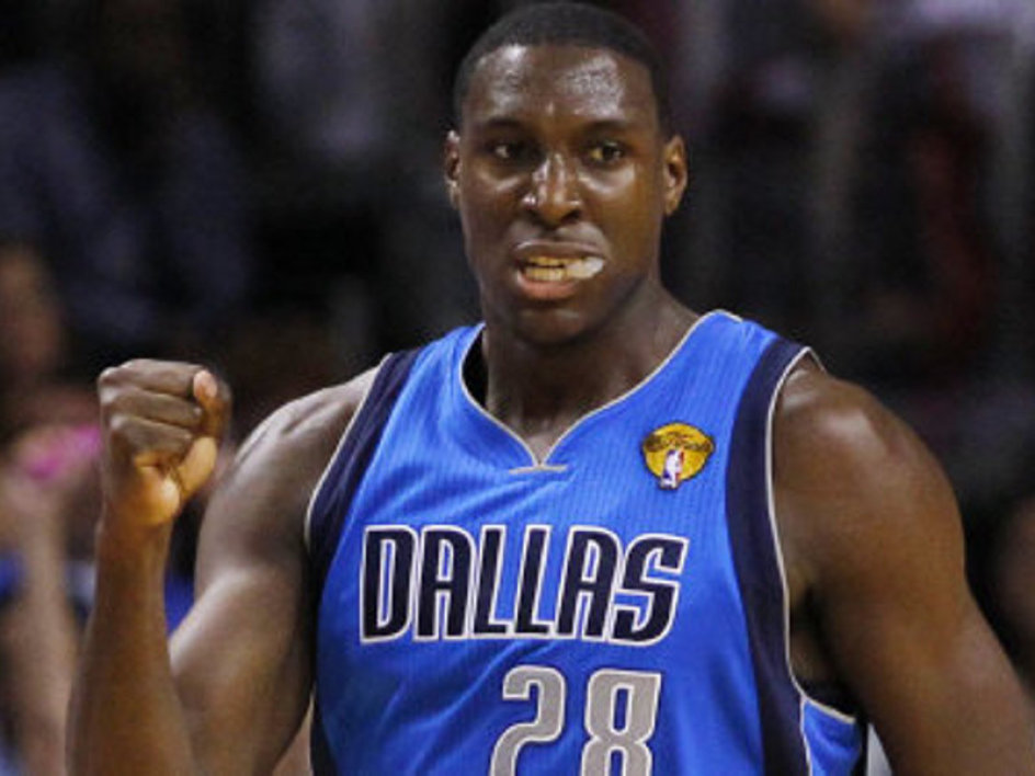 Ian Mahinmi won it all with Dallas last year.