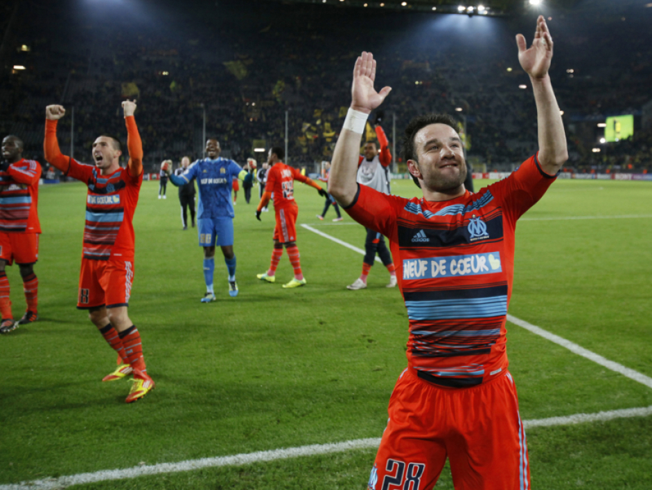 Mathieu Valbuena a inscrit le but de la qualification d'une frappe splendide