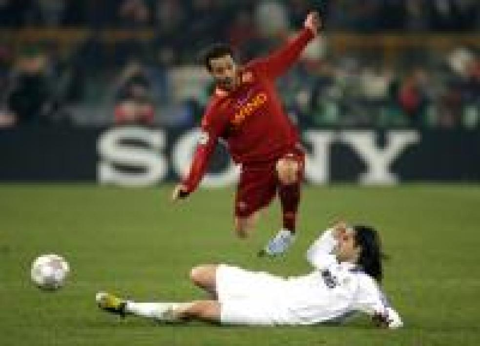 Ludovic Giuly a brillé hier face au Real Madrid