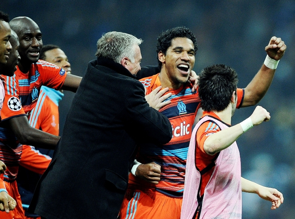 Didier Deschamps et Brandao