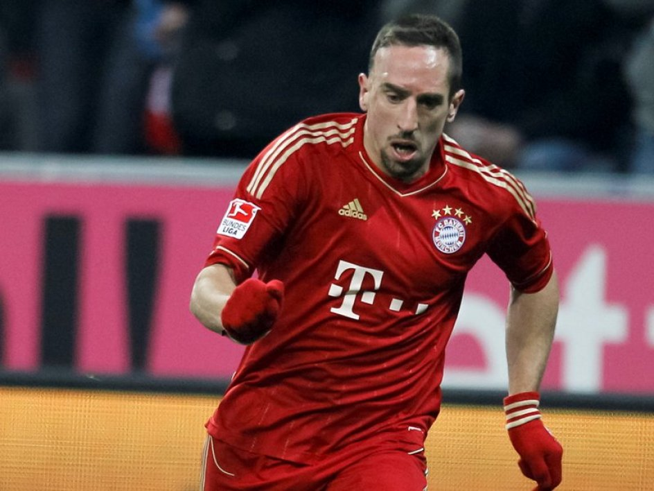 Ribéry made in Germany