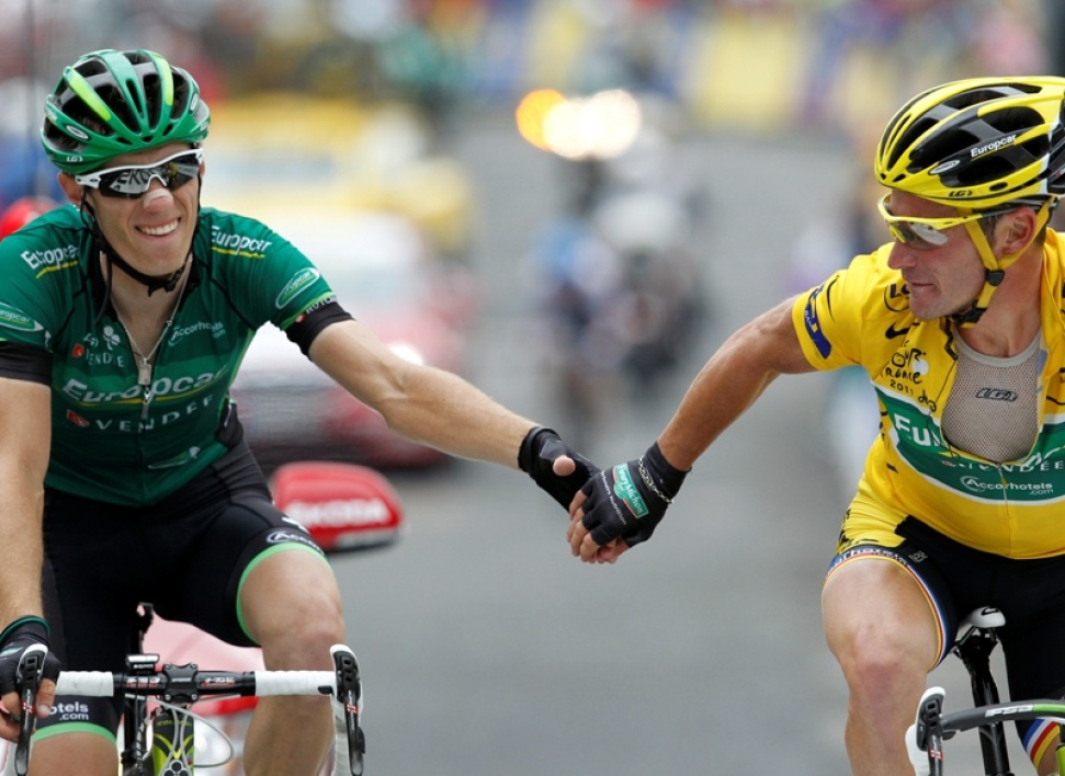 Pierre Rolland et Thomas Voeckler