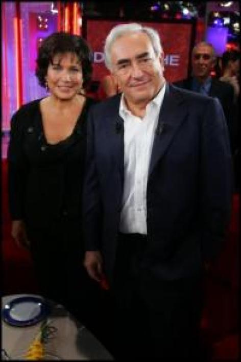 Anne Sinclair & Dominique Strauss Kahn