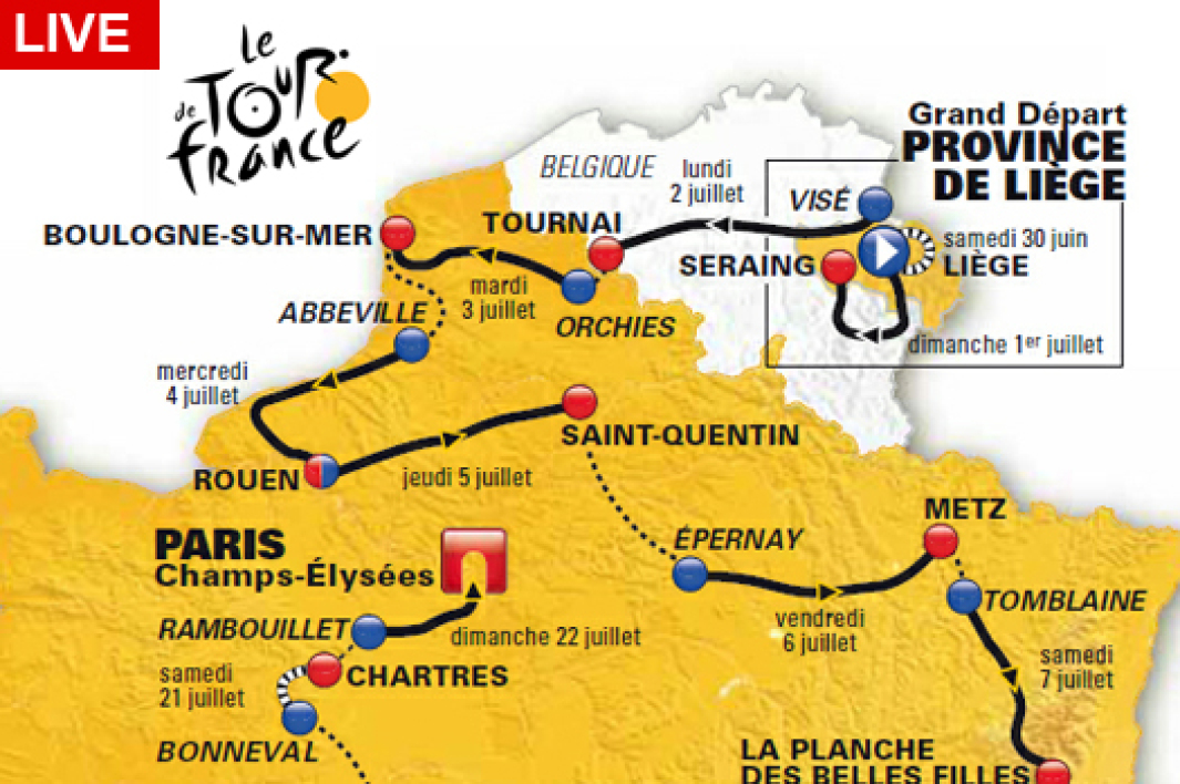 Tour de France : revivez la 2e étape