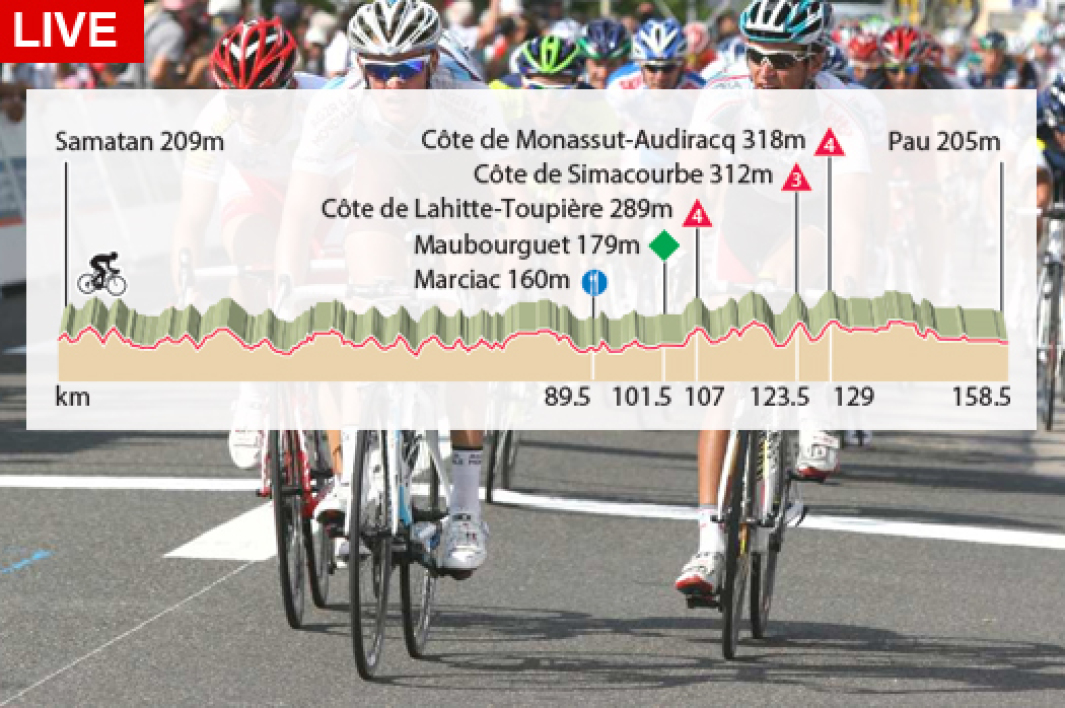 Tour de France : revivez la 15e étape