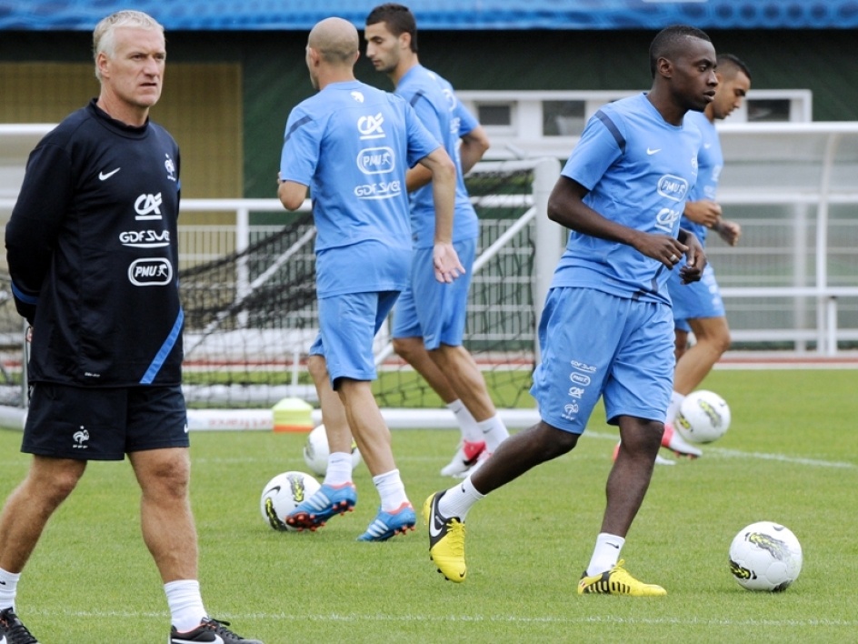 Didier Deschamps et son groupe