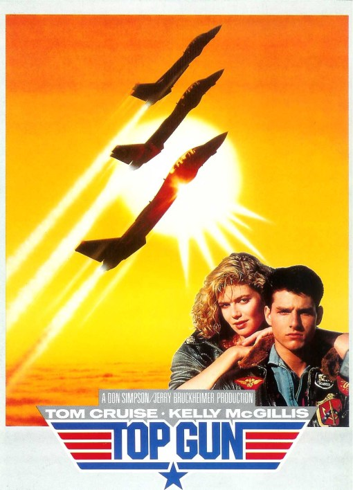 L'Affiche de Top Gun, de Tony Scott