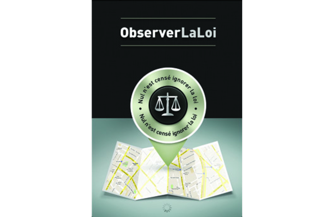 "Capture d'écran de l'application ""Observer la loi"""