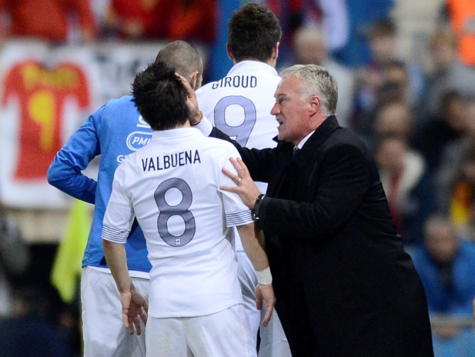 Deschamps, Giroud, Valbuena