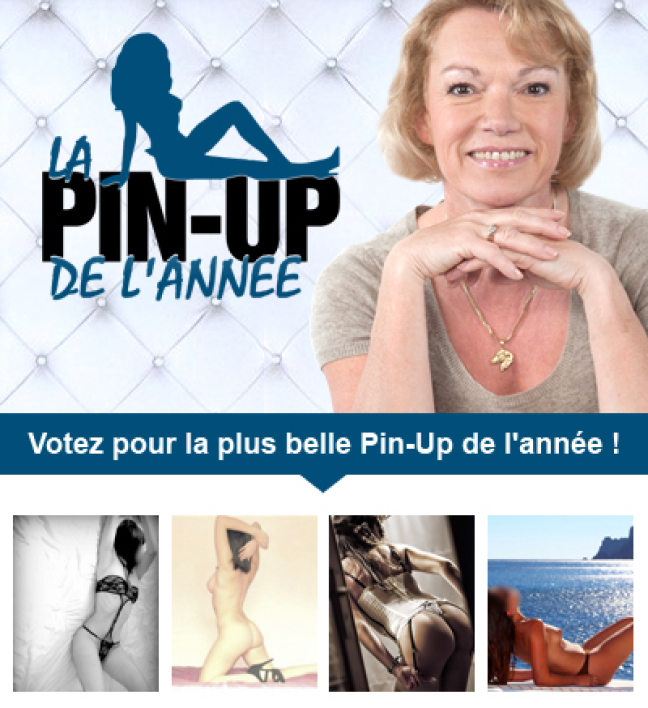 Election de la pin up de Lahaie, l'amour et vous