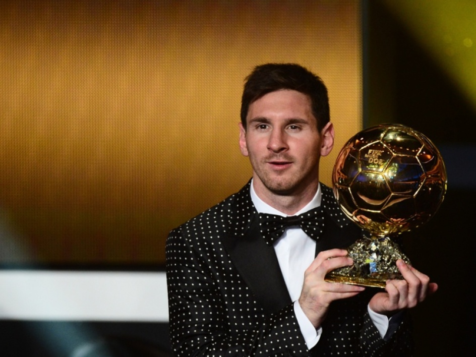 Ballon d'Or 2012 : Lionel Messi