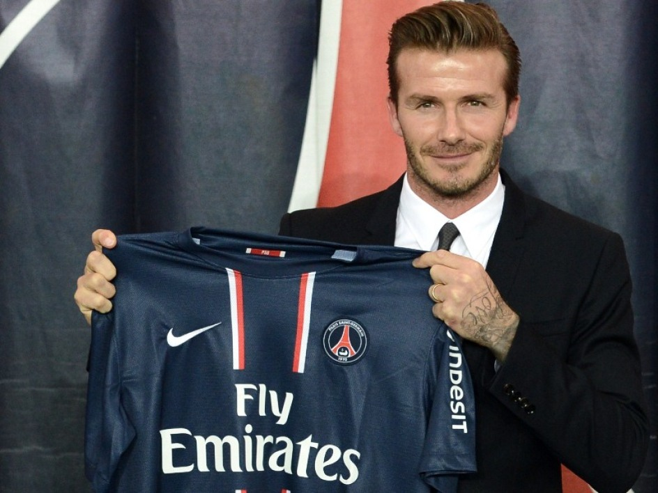"""Beckham """"looking forward to meeting his new teammates"""""""