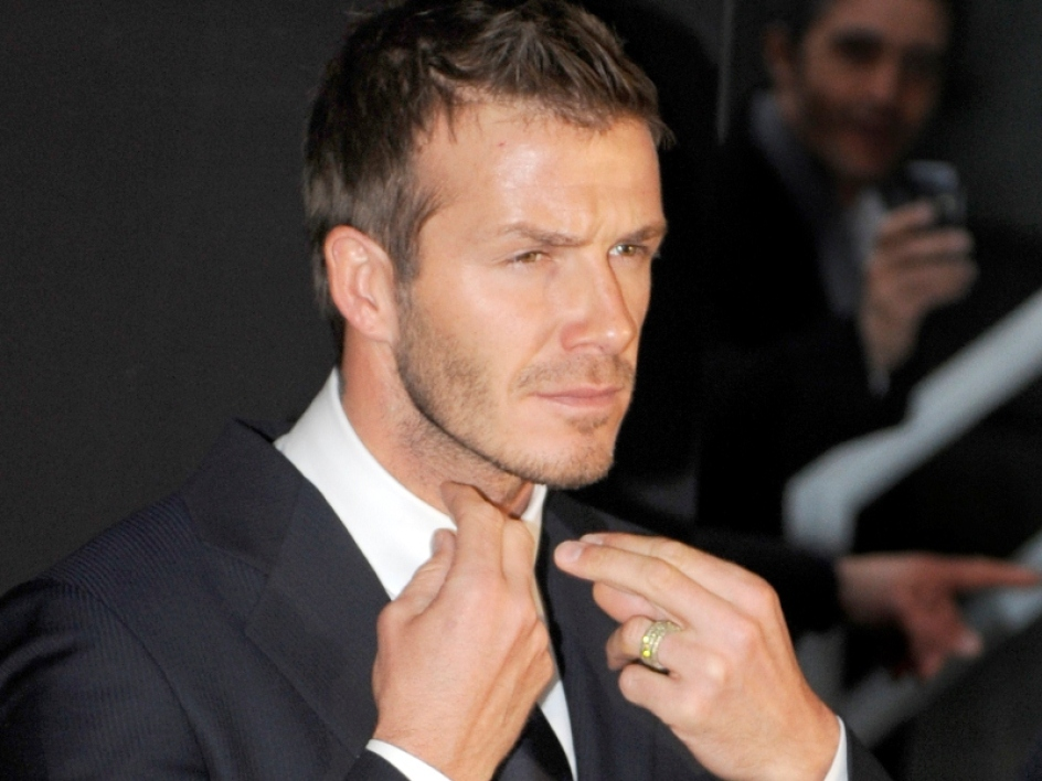 Silenzio stampa around Beckham