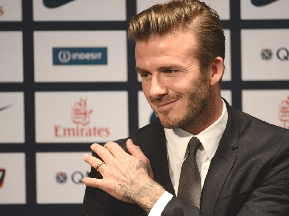 When the Beckhams play cat and mouse