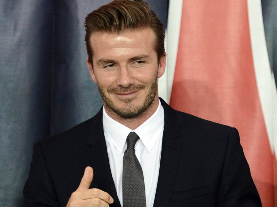 Beckham to become ambassador for... Chinese league