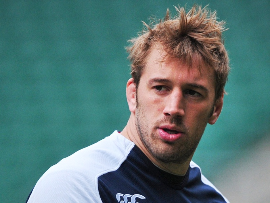 Chris Robshaw, le capitaine anglais