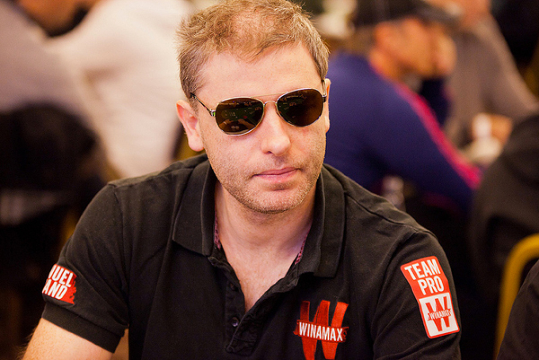 Day 1A WPT Barcelone: Manu Bevand chipleader.