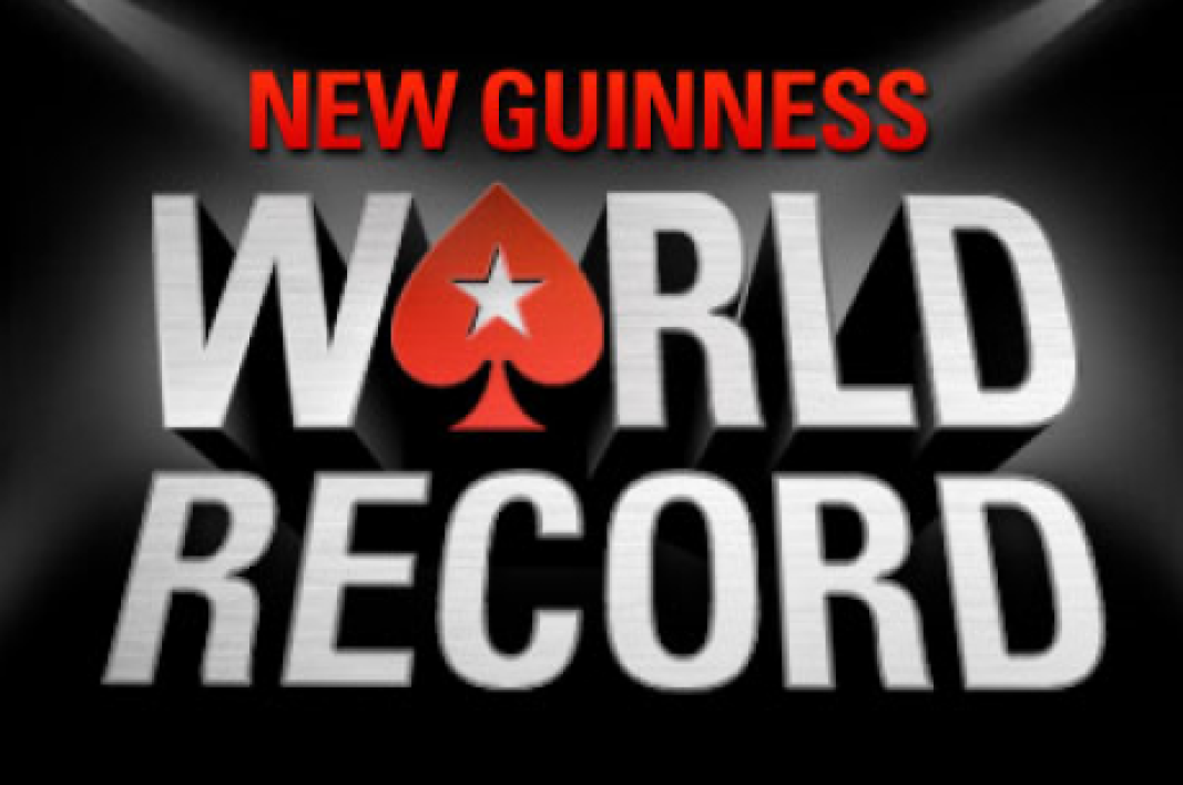 Guinness Book, PokerStars.com bat son propre record.