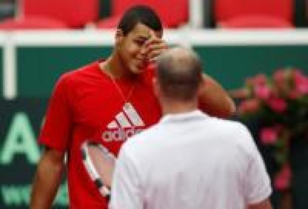 Guy Forget et Jo-Wilfried Tsonga