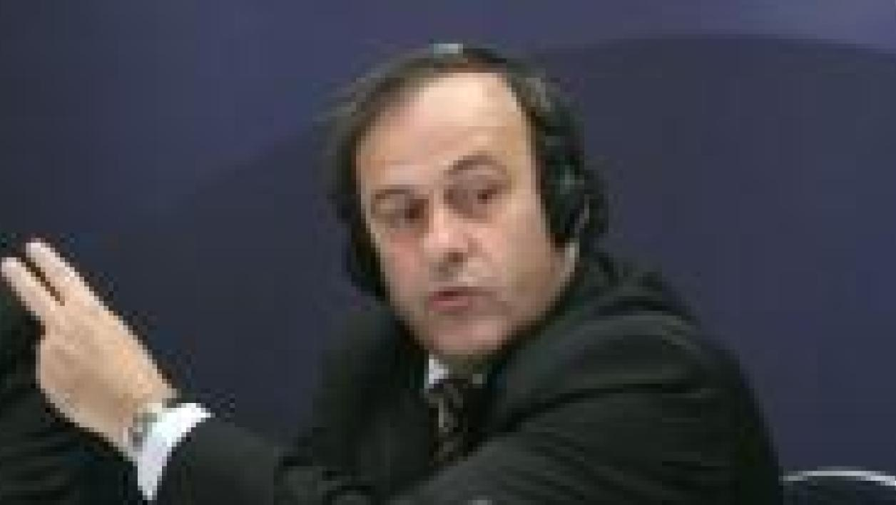 Platini : « Donner une image positive »