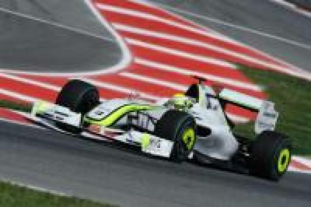 Jenson Button encore irrésistible au volant de sa Brawn GP.