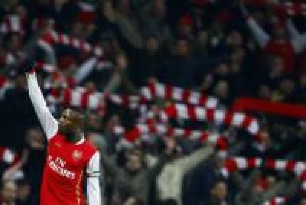 William Gallas, défenseur d'Arsenal