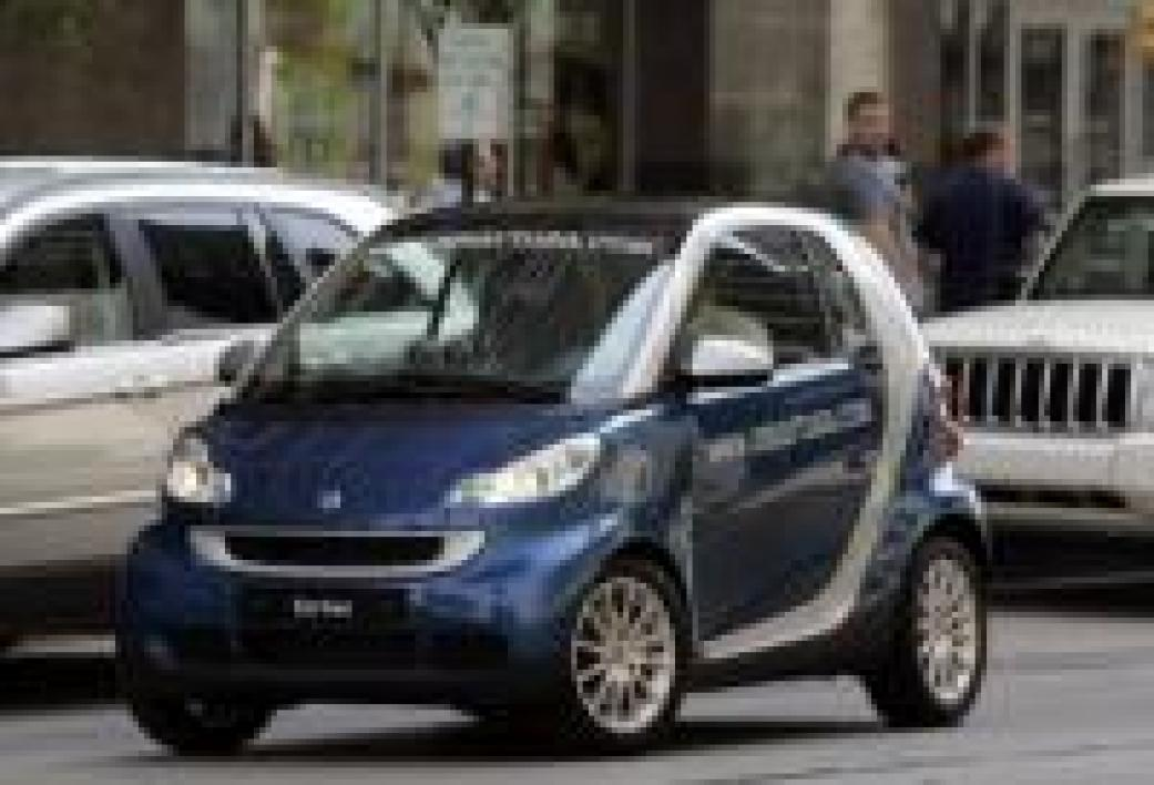La Smart Fortwo, voiture la plus volée en France en 2007