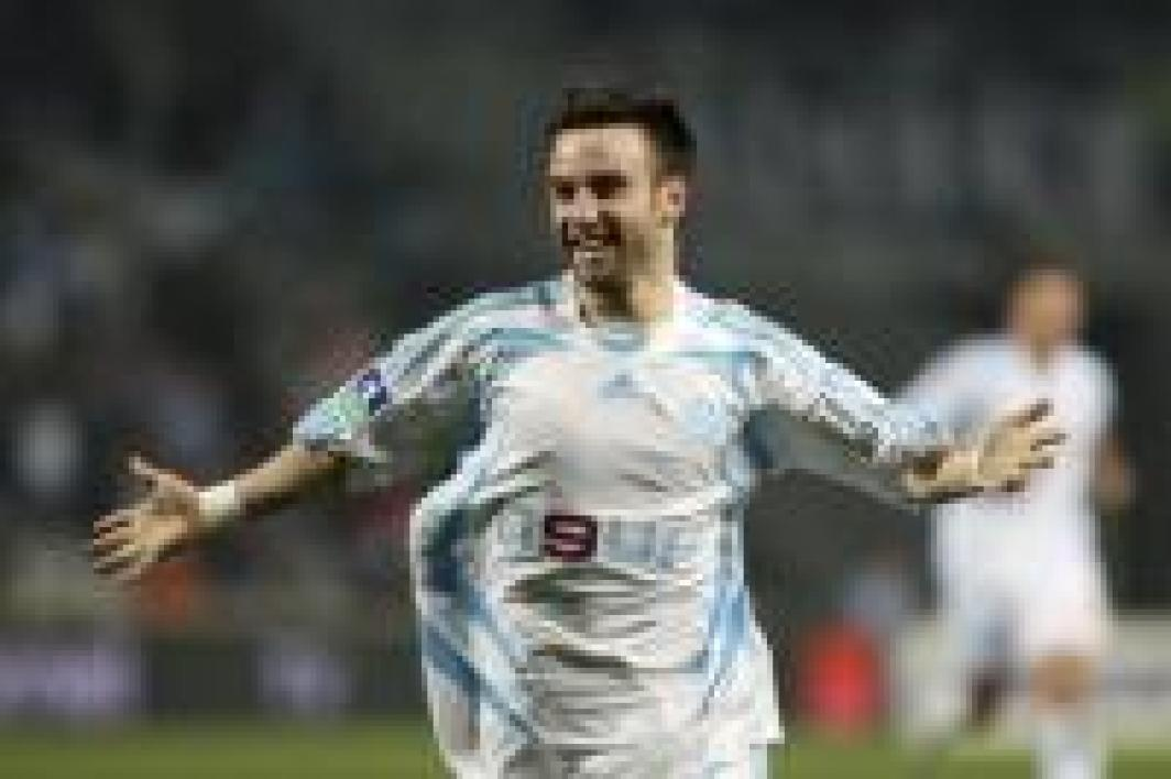 Mathieu Valbuena a inscrit le premeir but marseillais