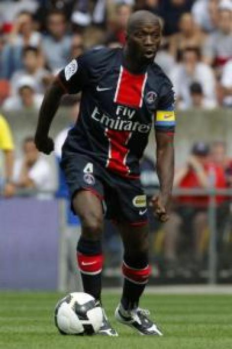 Claude Makelele, capitaine du PSG