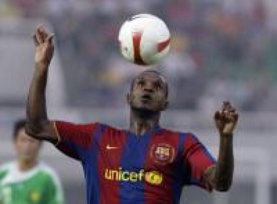 Abidal défend Thierry Henry