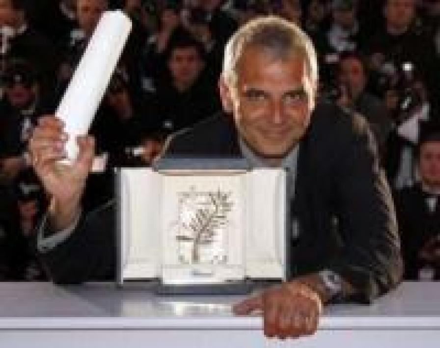 Laurent Cantet et sa palme d'or cannoise.