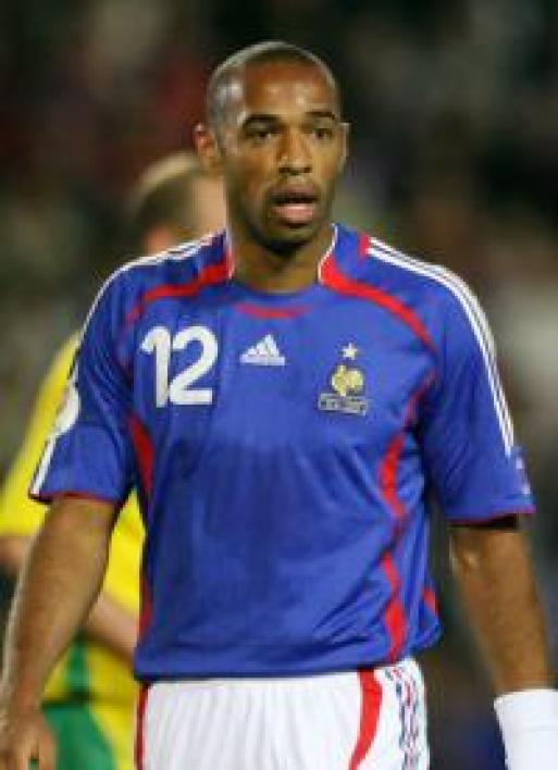 Thierry Henry, capitaine de l'équipe de France