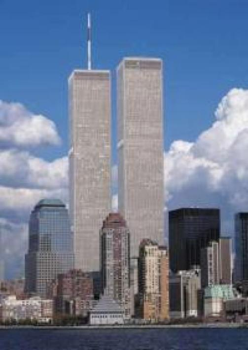 Les Twin Towers avant les attentats du 11 septembre 2001