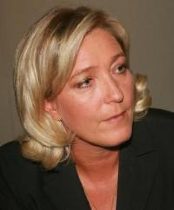 Marine Le Pen, vice-présidente du Front National