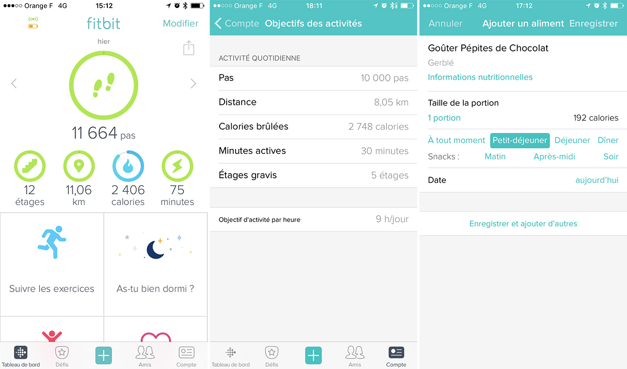 Application Fitbit