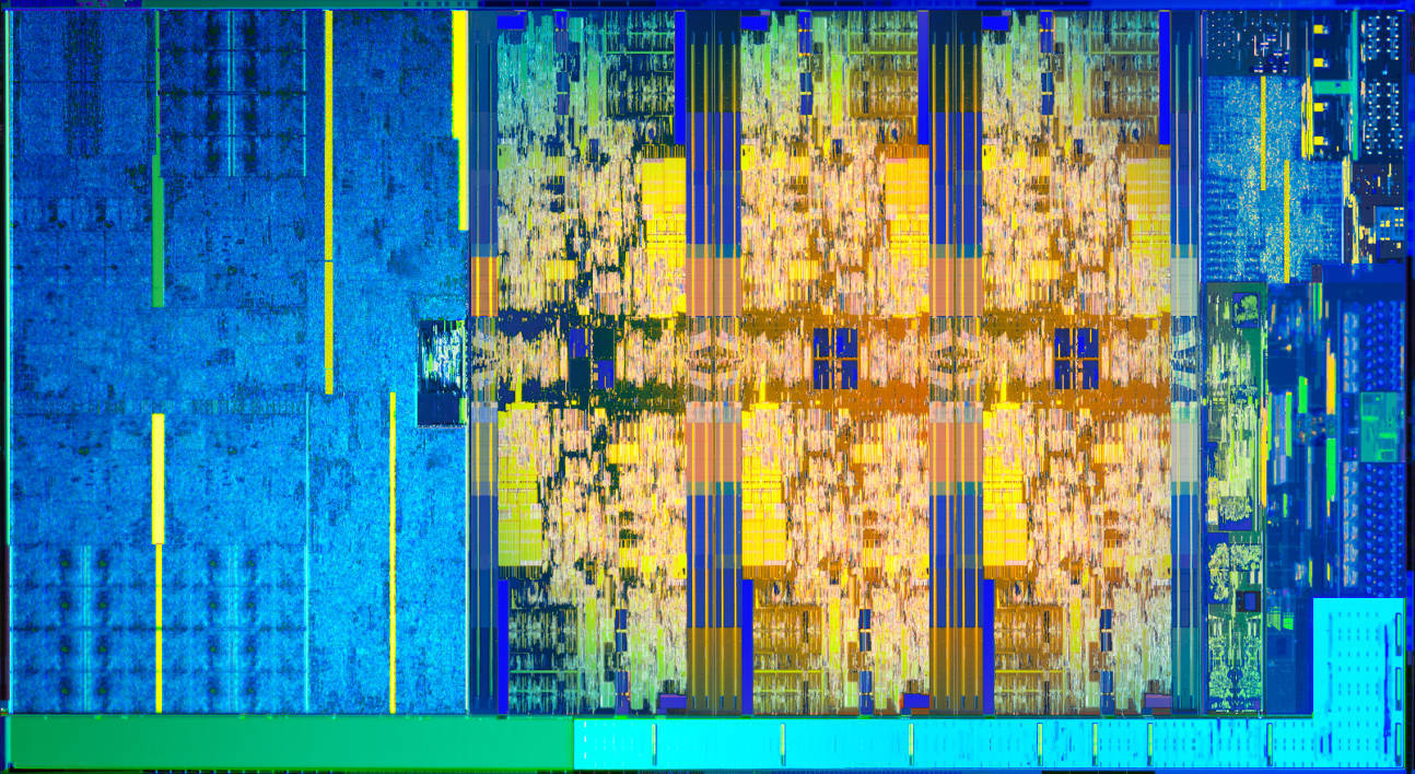 Intel Core i7-8700K die