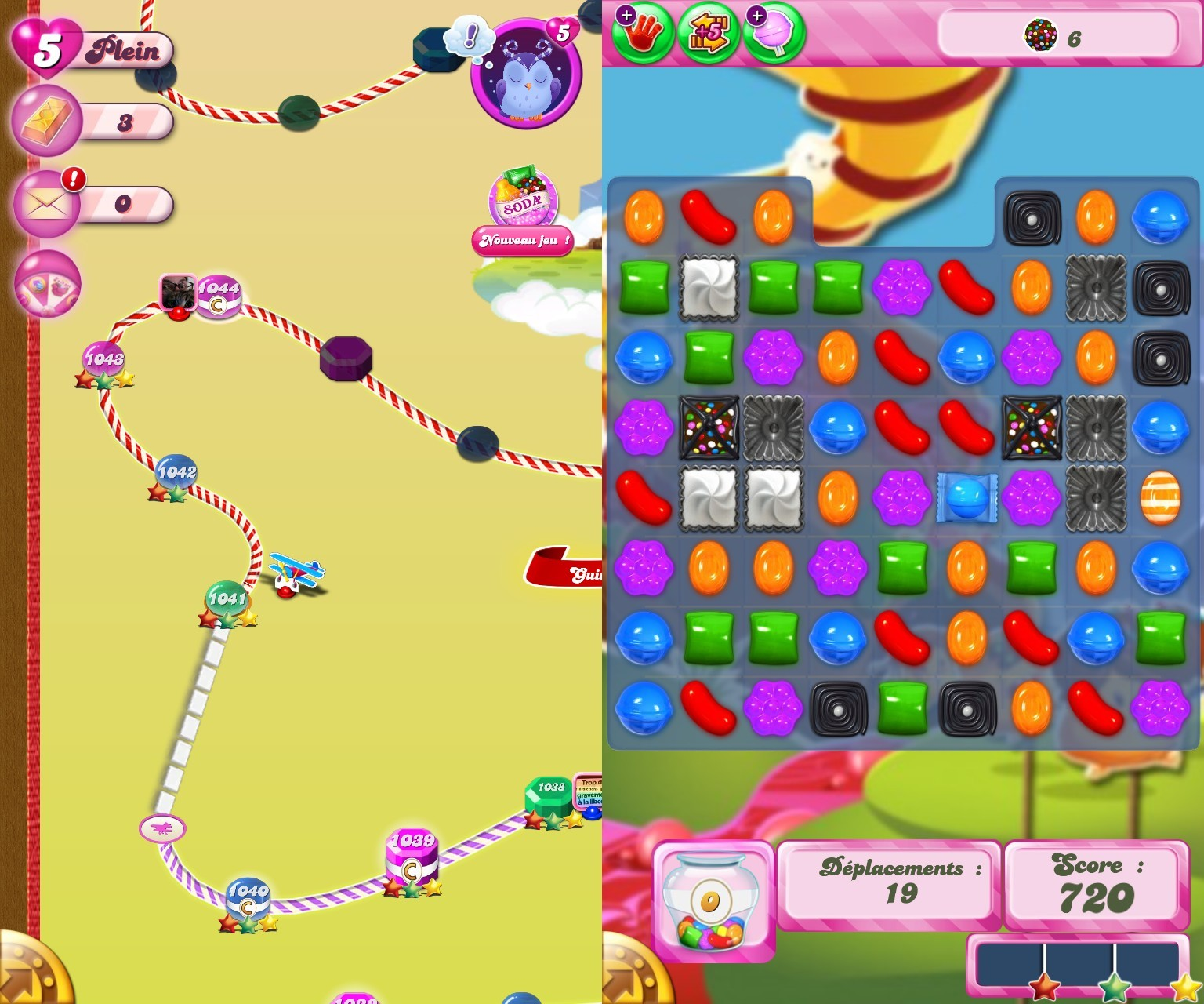 Candy Crush Saga – a fascinating game on Android and is a good example of how bored you to rethink the concept of