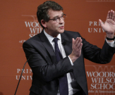 Arnaud Montebourg à Princeton: le show made in France
