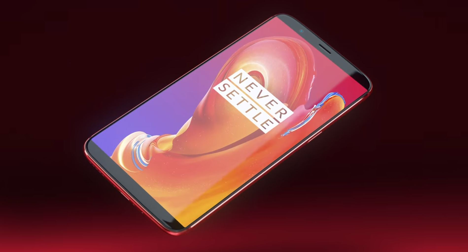 Le OnePlus 5T Lava Red Special Edition