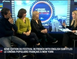 6ème édition du Festival In French with English Subtitles: le cinéma populaire français à New York: Catherine Laleuf,...